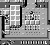 Ikari no Yōsai 2 Game Boy Gun placement and enemy soldier.
