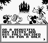 Mickey Mouse: Magic Wands! Game Boy The story.