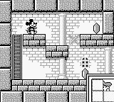 Mickey Mouse: Magic Wands! Game Boy Got part of Donald's face.