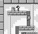 Mickey Mouse: Magic Wands! Game Boy Another baddy coming.