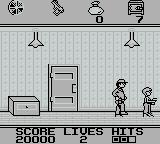 Home Alone Game Boy Get robber to follow you