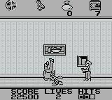 Home Alone Game Boy And then he stands on the trap