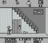 Home Alone Game Boy Use the key to open door