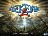 Azkend 2: The World Beneath iPad Main menu