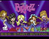 Bratz PlayStation The game's title screen follows the usual memory card check and choice of language