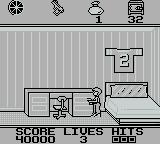 Home Alone Game Boy Level 2 starts off in your room