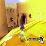 Disney's Aladdin in Nasira's Revenge PlayStation The genie gets Aladdin away from the guards sent to capture him. The action starts on this rooftop