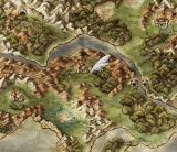 Dragon Quest V: Tenkū no Hanayome PlayStation 2 A zoomed-out map of the area...
