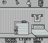 Home Alone Game Boy Starting Level 3