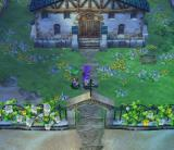 Dragon Quest V: Tenkū no Hanayome PlayStation 2 Reached a quiet secluded house with lovely surroundings