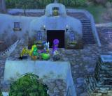 Dragon Quest V: Tenkū no Hanayome PlayStation 2 A stony town at night. I have recruited monsters to my party!..
