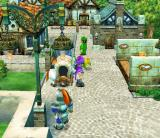 Dragon Quest V: Tenkū no Hanayome PlayStation 2 A bustling city with guards and other people
