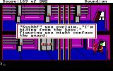 Space Quest: Chapter I - The Sarien Encounter DOS Chatting with the guards while in disguise