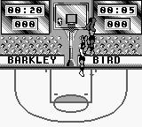NBA All-Star Challenge 2 Game Boy Going for the shot.