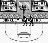 NBA All-Star Challenge 2 Game Boy He scores.