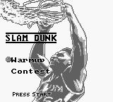 NBA All-Star Challenge 2 Game Boy Slam Dunk.
