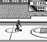NBA All-Star Challenge 2 Game Boy Running towards the basket.