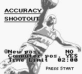 NBA All-Star Challenge 2 Game Boy Accuracy Shootout.