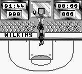 NBA All-Star Challenge 2 Game Boy Attempting to score.