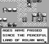 Rolan's Curse 2 Game Boy The story.