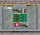 Tactical Soccer SNES Setting. There are eight different formations to choose from. Names are... fake.