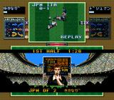 Tactical Soccer SNES Foul.