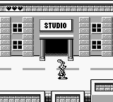 Who Framed Roger Rabbit Game Boy Exploring the town.