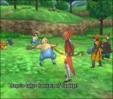Dragon Quest VIII: Journey of the Cursed King PlayStation 2 Fighting mid-level enemies. Note the detailed animation, as opposed to all previous Dragon Quest games!