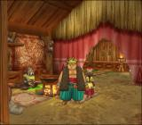 Dragon Quest VIII: Journey of the Cursed King PlayStation 2 Just relaxing in a chieftain's house. I hope he doesn't mind