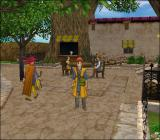 Dragon Quest VIII: Journey of the Cursed King PlayStation 2 A cozy town, an everyday scene conveying simplicity and relaxation