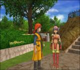 Dragon Quest VIII: Journey of the Cursed King PlayStation 2 The hero meets a possible love interest?.. Play and find out!..
