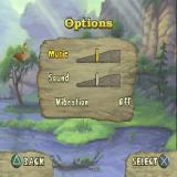 The Land Before Time: Big Water Adventure PlayStation The game configuration options