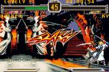 Guilty Gear X Game Boy Advance The final blow gives you this image on the screen