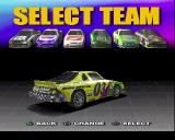 Stock Car Racer PlayStation This is the car selection screen, after this the race begins