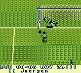 J League: Big Wave Soccer Game Boy Yes, the goalkeeper actually moves, isn't that great?