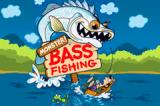 Monster! Bass Fishing Game Boy Advance I caught a fish THHHIIIIISSSSS big!!