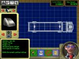 Invention Studio Windows 3.x Making a vehicle with the blueprint board.