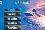 Monster! Bass Fishing Game Boy Advance The main menu