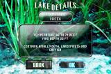 Monster! Bass Fishing Game Boy Advance Each lake has information about it