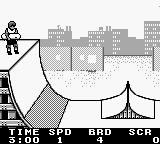 Skate or Die: Tour de Thrash Game Boy Bit of fun in the skate park.