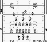 NFL Football Game Boy Waiting for the snap.