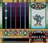 pop'n music GB: Disney Tunes Game Boy Color Need to press left.