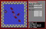 Xanadu: Dragon Slayer II Sharp X1 Red ravens, huh? The red potion in the middle restores hp