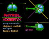 Patrol Cobry Amiga Patrol Cobry title screen