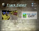 Destruction Derby 2 PlayStation The track selection screen. There's no handy map to give the player any idea what to expect. Not all tracks are available, most have to be unlocked by progressing through the Championship