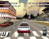 Destruction Derby 2 PlayStation The start of a Wrecking Race