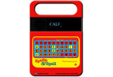 Speak & Spell Emulator Browser I am spelling 'CALF'.