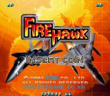Fire Hawk Arcade Title screen