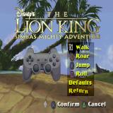 Disney's The Lion King: Simba's Mighty Adventure PlayStation There is only one controller configuration in this game
