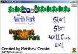 North Park vs South Park Windows Main menu